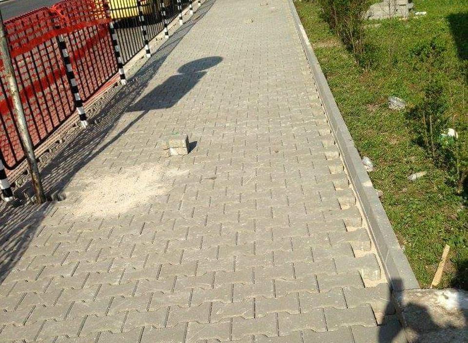 Изграждане на тротоари gallery