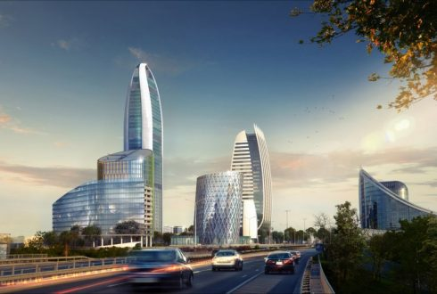 Sky Fort – най-високата сграда на балканите